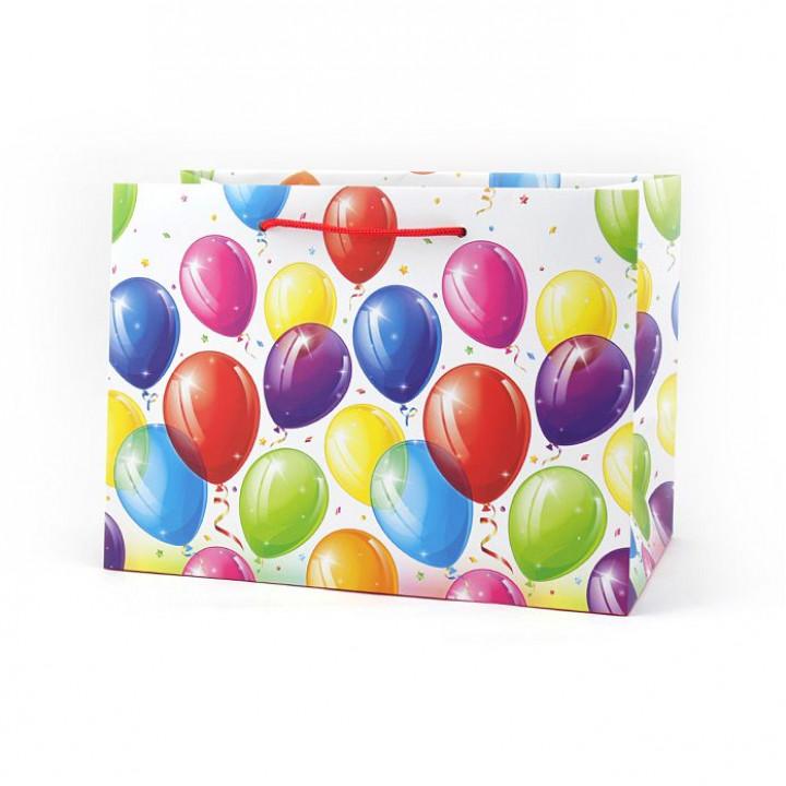 Пакет Яркие шары  52*35*17 см