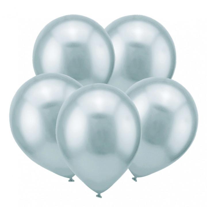 Зеркальные шары Серебро