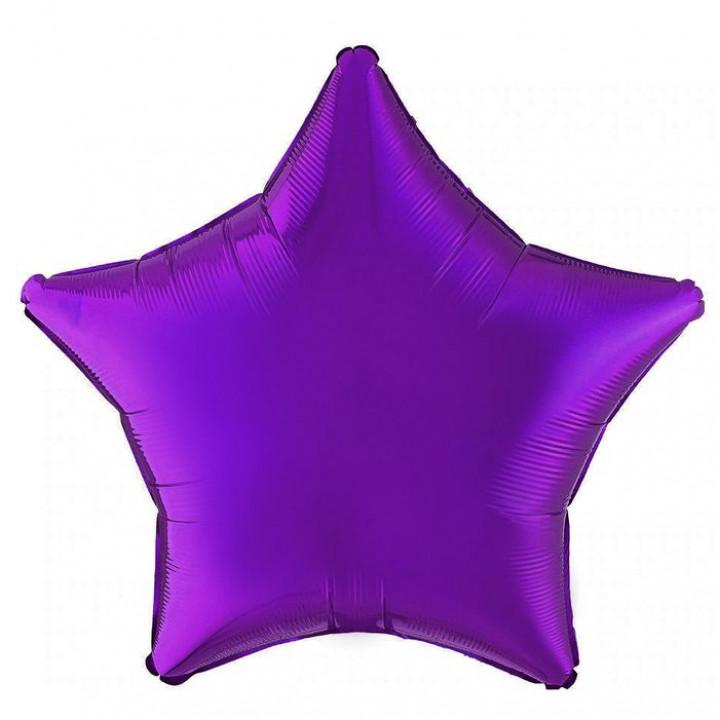 Звезда Металлик фиолетовый