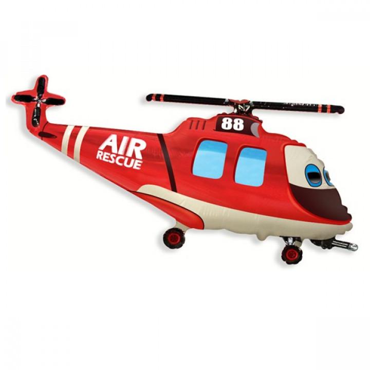FM гр.3 И-316 Вертолет спасателей 57смX96см фольга