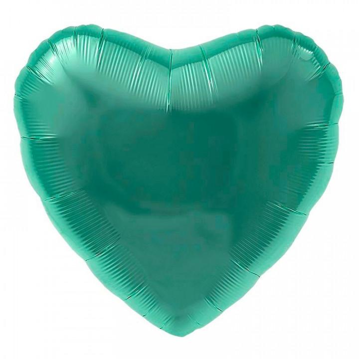 Фольгированный шар сердце тиффани