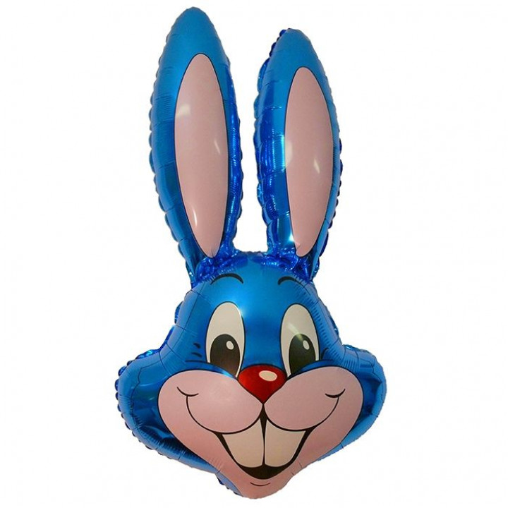 И 14 Заяц (синий) / Rabbit