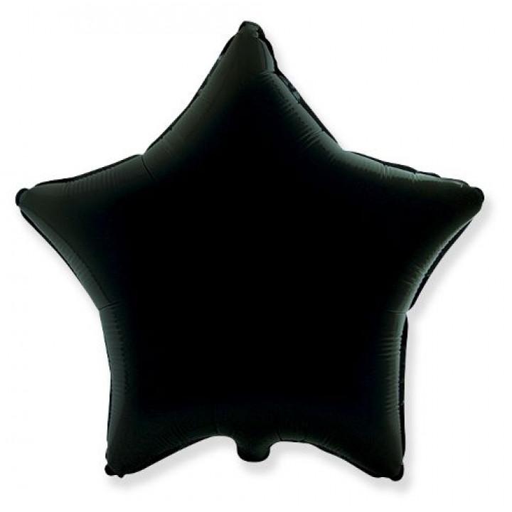 Звезда Металлик черная